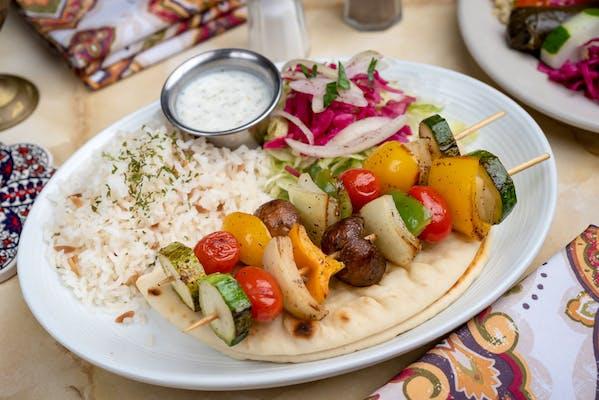 27. Grilled Veggie Skewers Platter