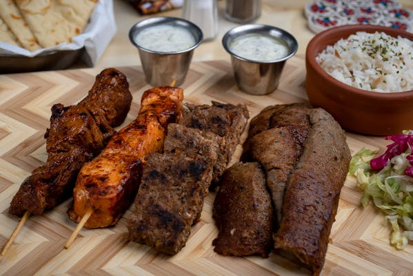 28. Mixed Grill Platter