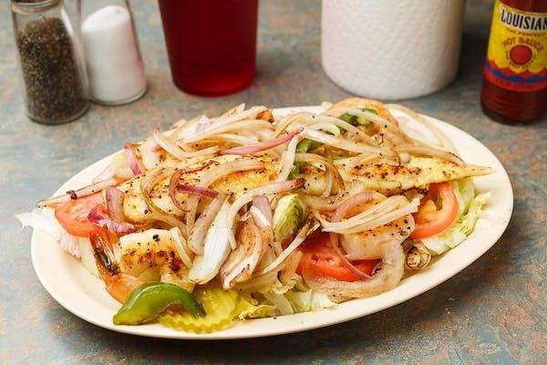 9. Grilled Shrimp Salad