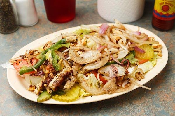 11. Grilled Chicken Salad