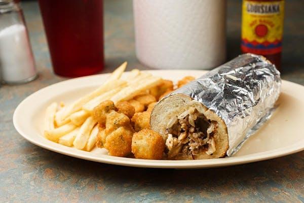 4. Philly Chicken Sandwich
