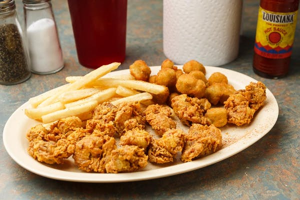 40. Fried Gizzards Meal