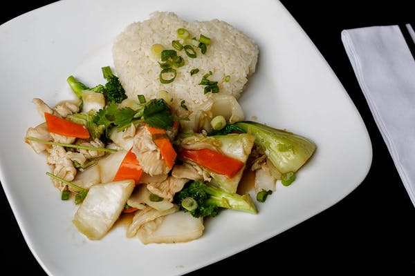 Stir-Fry with Rice