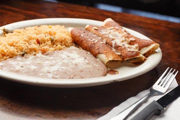 Tres Enchiladas Combo