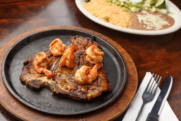 Steak & Diabla Shrimp