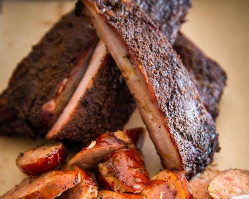 Smokehouse Ribs & Sausage Tasting Plate