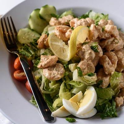 Boiled Shrimp Rémoulade Salad