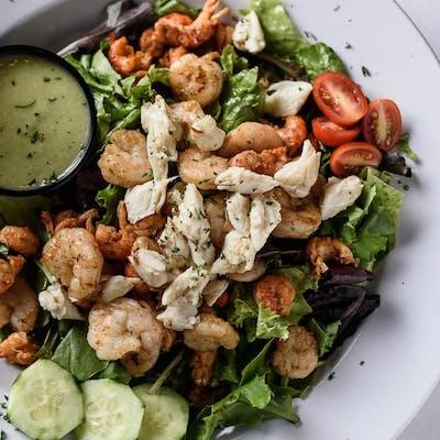 Grilled Seafood Caesar