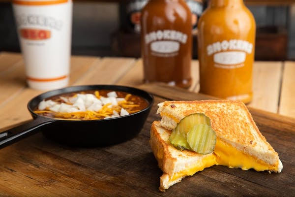 Side Chili & Grilled Cheese Sandwich