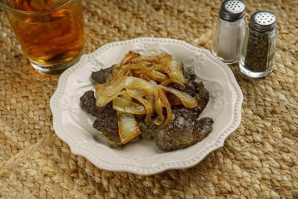 A la Carte Beef Liver & Onions