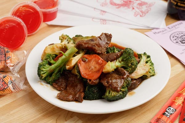 Lunch Broccoli Beef Combo