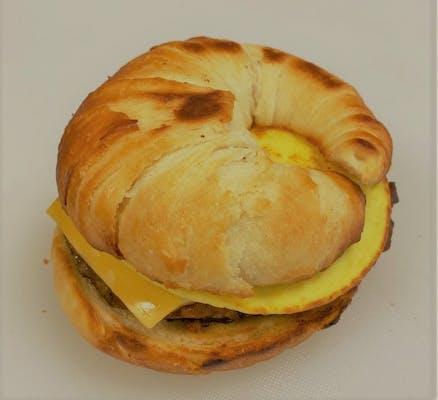 C'est Bon Croissant Breakfast Sandwich