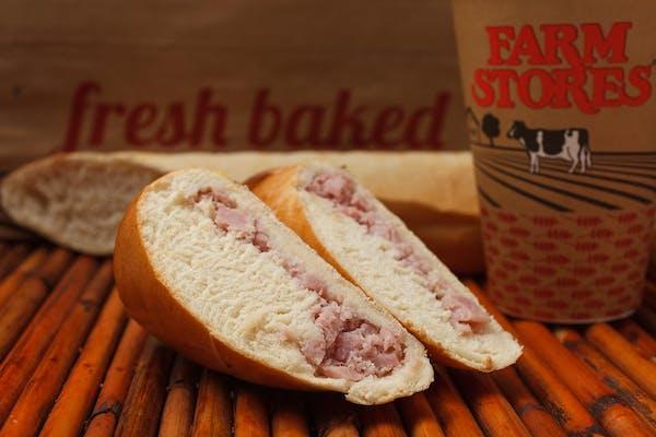 Cheesy Ham Cachito Sandwich