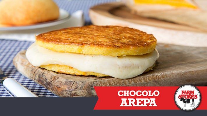 Cheesy Sweet Corn Cakes Arepa