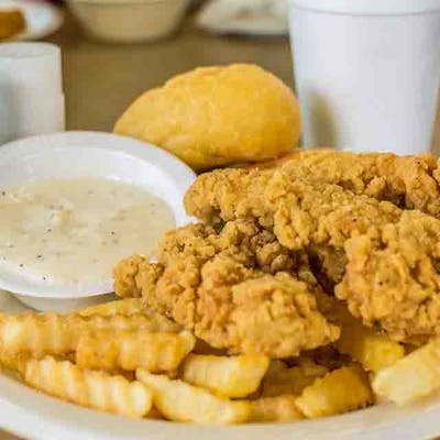 Fried Chicken Strips Dinner