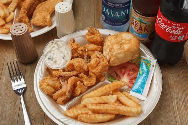 (12 pc.) Shrimp Dinner Coca-Cola Combo