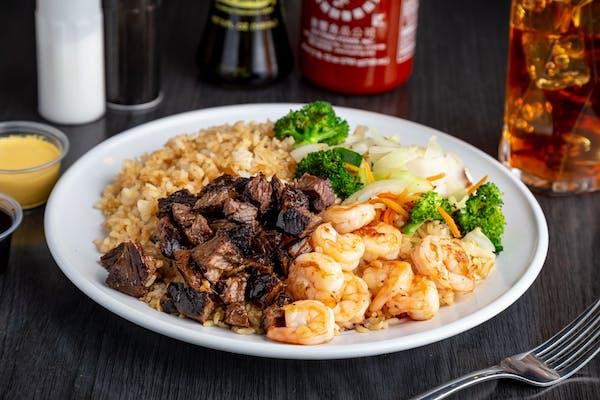 21. Steak & Shrimp