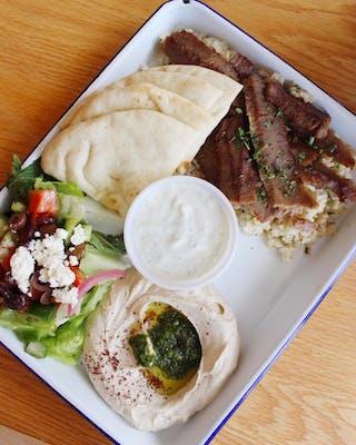 Gyro Platter (Beef & Lamb Blend) Plate