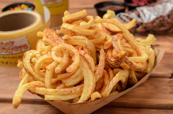 Large Fries on a Frizbee