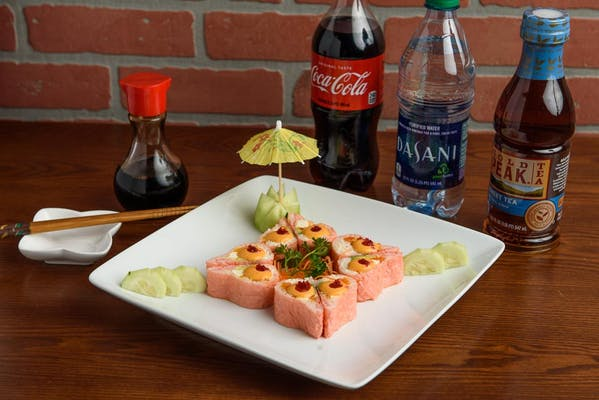 Pink Lady Roll Coca-Cola Combo