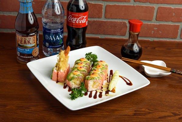 Kyoto Roll Coca-Cola Combo