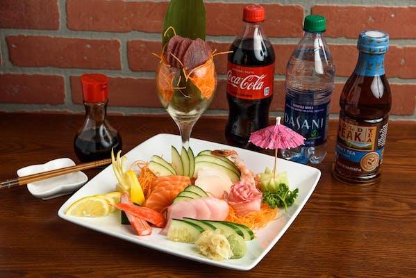 Sashimi Deluxe Coca-Cola Combo