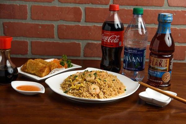 Shrimp Fried Rice Coca-Cola Combo