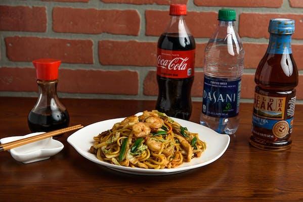 Shrimp  Lo Mein Coca-Cola Combo