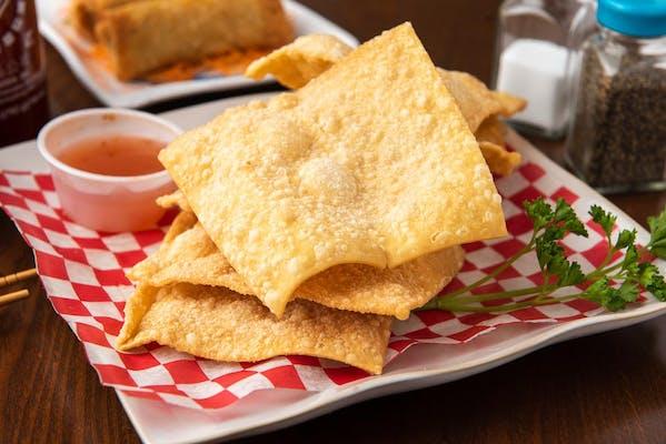 8. Fried Plain Wonton