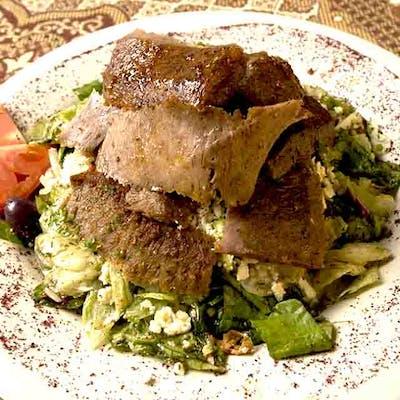 Lunch Gyro Salad