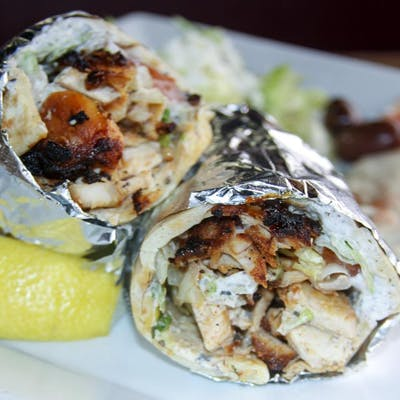 Lunch Chicken Shawarma Sandwich