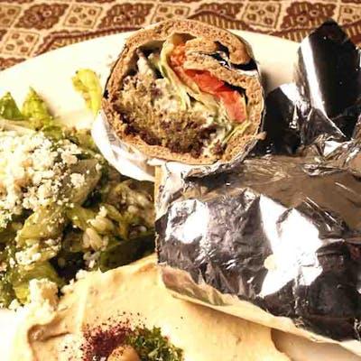 Lunch Falafel Sandwich