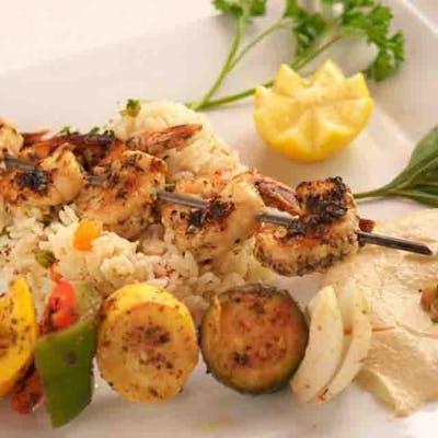 Lunch Shrimp Kabob