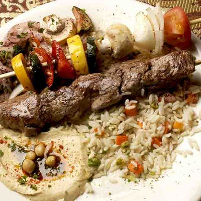 Lunch Lamb Kabob
