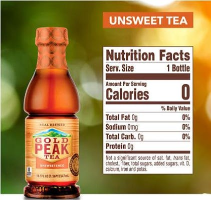 Gold Peak Unsweet Tea