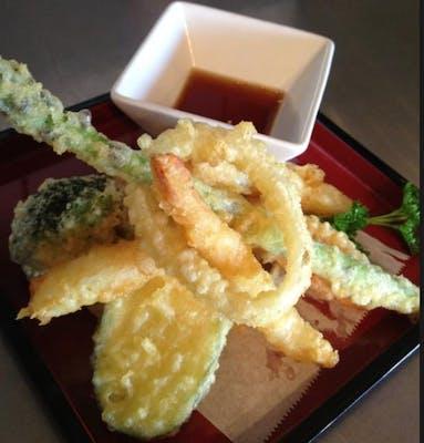 Shrimp & Vegetable Tempura Appetizer