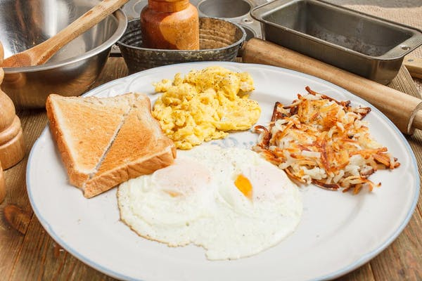 Two-Egg Plate