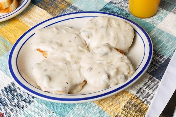 (2) Biscuits & Sausage Gravy