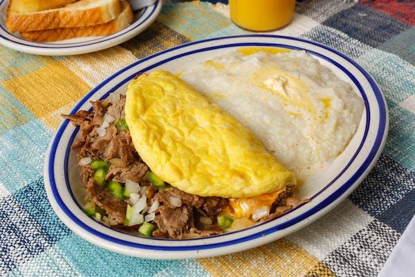 Philly Steak Omelet