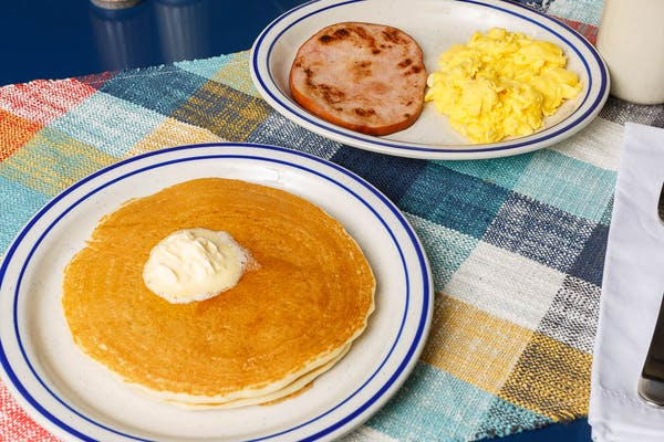 Golden Pancake Platter