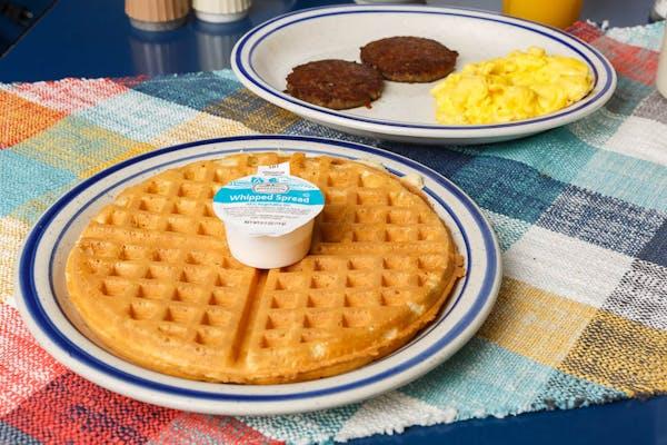 Golden Waffle Platter