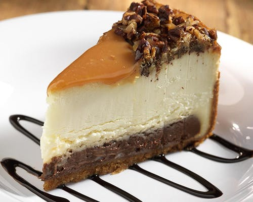 Caramel Fudge Cheesecake