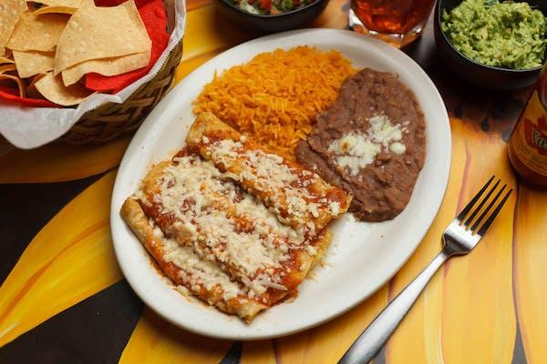 7. Enchiladas de Pollo