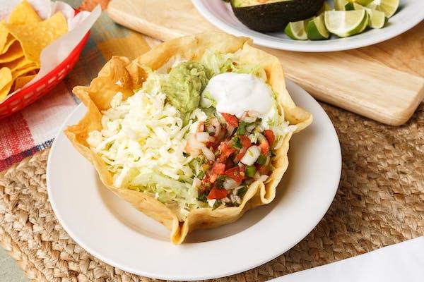 Grilled Steak Taco Salad