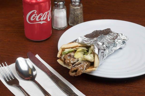 Seekh Kebab Wrap