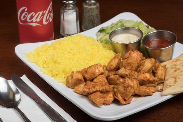 Chicken Tikka Plate