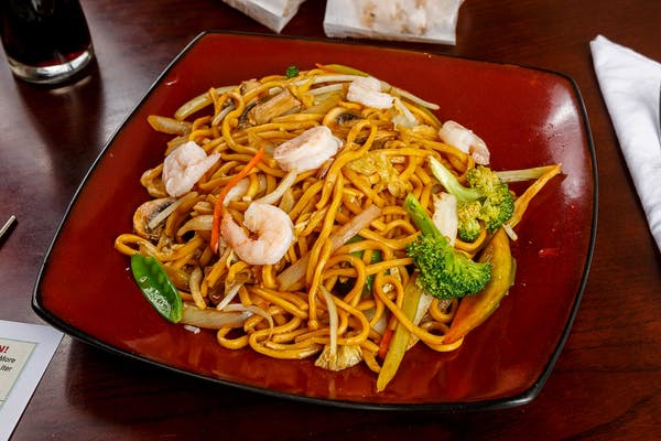 8. Beef or Shrimp Lo Mein