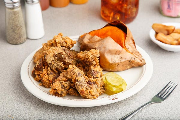 Fried Chicken Livers Platter