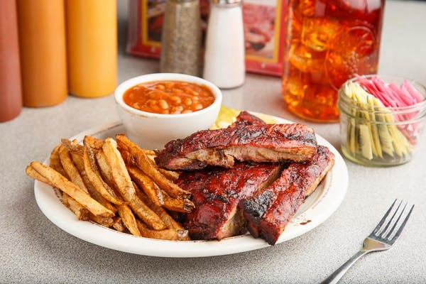 Barbecue Rib Platter