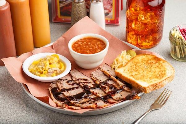 Texas Beef Brisket Platter